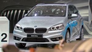 2015法兰克福车展 宝马225xe车型亮相
