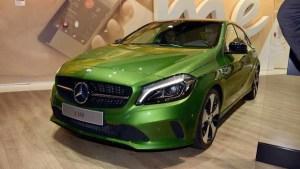 2015法兰克福车展 新款奔驰A级粉墨登场