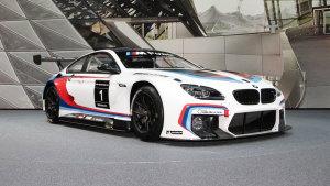 2015法兰克福车展 全新宝马M6 GT3现身