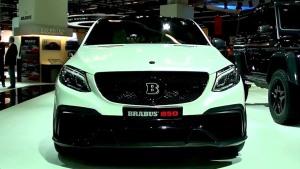 2015法兰克福车展 巴博斯改装GLE Coupe