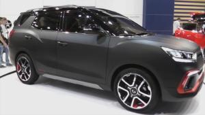 双龙XLV-Air概念车  提供两款动力可选
