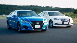 丰田新皇冠日规版 提供两种动力组合