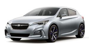 2015东京车展 斯巴鲁翼豹5门概念车发布