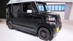 2015东京车展 2016款本田N-Box Custom