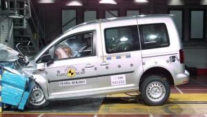全新大众开迪多功能车 E-NCAP碰撞测试