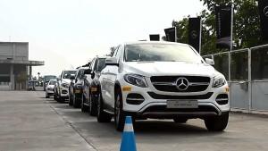 奔驰家族全系车型 赛道试驾体验
