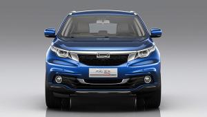 2015广州车展 观致5 SUV正式发布