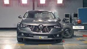 全新雷诺塔利斯曼 E-NCAP碰撞测试