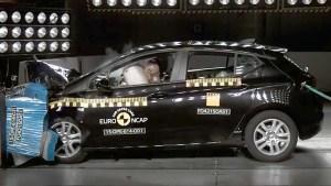 欧宝/沃克斯豪尔雅特 E-NCAP碰撞测试