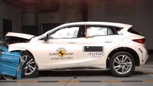 全新英菲尼迪Q30 E-NCAP碰撞测试