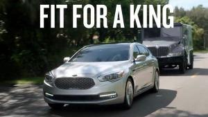 2016款起亚K9 搭全新3.8L V6发动机