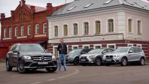 四款高性能SUV集结 外观内饰细节PK