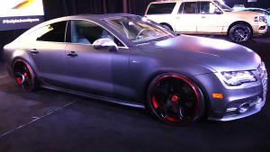 全新奥迪S7改装版 豪车范儿十足