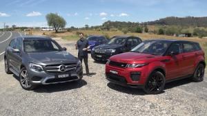 四款豪华SUV较量 外观内饰细节对比