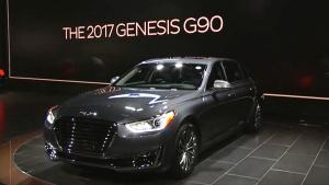 2016北美车展 现代Genesis G90发布