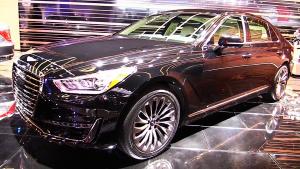 2016北美车展 现代Genesis G90静态展示