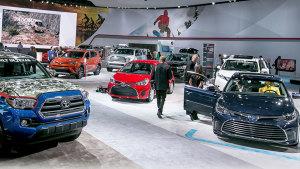 2016北美国际车展 丰田家族重磅出击