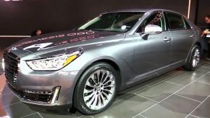 2016北美车展 现代Genesis G90正式发布