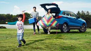 北汽绅宝X55动感SUV 五星安全为你开路