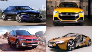 十款热门未来概念车 讴歌Precision入选