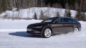 斯柯达全新速尊 四驱系统挑战冰雪路面