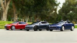 特斯拉联合童车品牌 推儿童版Model S