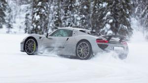 2016保时捷冬季体验 918 Spyder出没