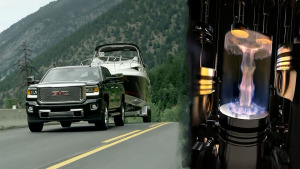 GMC皮卡Sierra HD 搭载Duramax柴油引擎