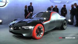 2016日内瓦车展 Opel GT概念车亮相