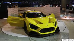 2016日内瓦车展 Zenvo TS1/TSR实车曝光