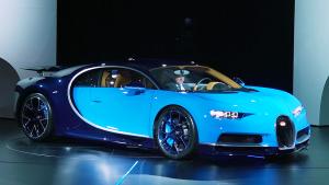 2016日内瓦车展 布加迪Chiron发布