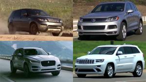 2016年柴油引擎SUV推荐 捷豹F-PACE入选