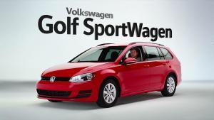 全新高尔夫Sportwagen 空间更宽大