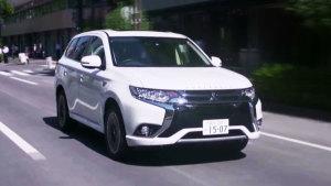 2017款三菱欧蓝德PHEV 插电混动SUV