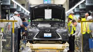 2016款雷克萨斯ES 美国生产车间曝光
