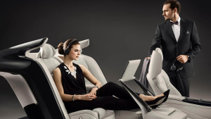 沃尔沃S90 Excellence 采用三座布局