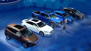 福特品牌创新之夜 全员集结同台亮相