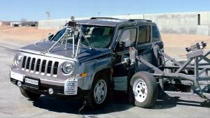 2016款Jeep自由客 NHTSA侧面碰撞测试