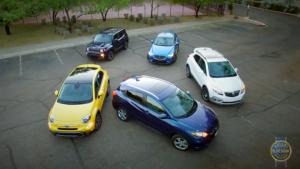 五款紧凑SUV对比试驾 本田/别克/马自达