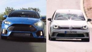 全新高尔GTI Clubsport S 对比福克斯RS