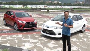评测新丰田威驰/致炫 外观小改动力升级