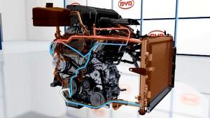 比亚迪秦自主轿车 增压冷却系统详细解