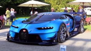 布加迪Vision GT霸气现身 科技感爆棚