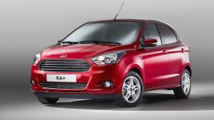 全新福特KA+静态展示 入门级时尚小车