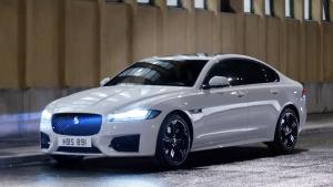 全新捷豹XF轿跑车 线条优美气势倍增