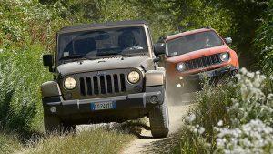 Jeep牧马人领衔 体验西班牙多地形越野