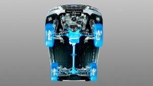 斯巴鲁傲虎 AWD全时四轮驱动系统展示