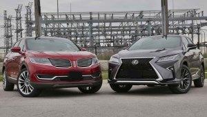 50万级别SUV对比 雷克萨斯RX vs林肯MKX