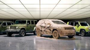 泥土作画 Jeep汽车75周年致敬版宣传片