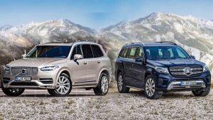 百万级SUV之争 奔驰GLS级vs沃尔沃XC90